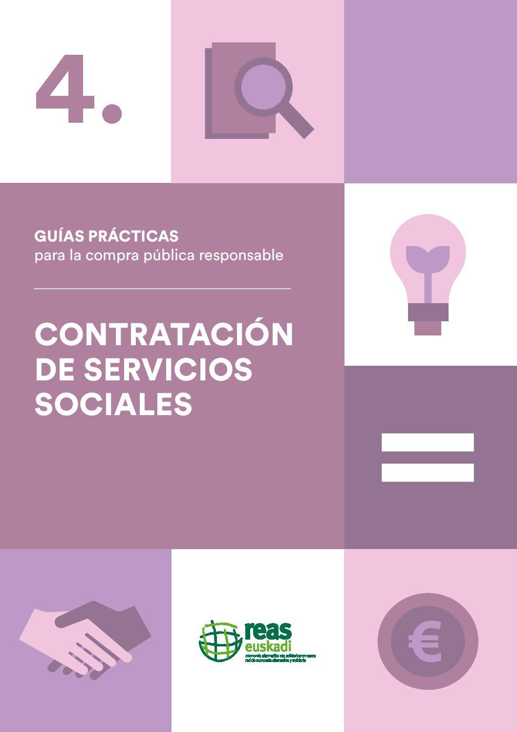 Contratación de servicios sociales.