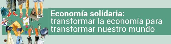 Propuesta de contenidos Economía solidaria
